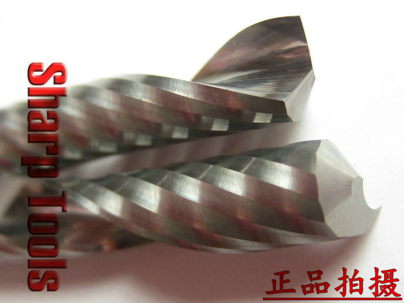 6X52MM- FREE Shipping Single Flute Solid Carbide Spiral Bits, NEW 3PCS CNC Millinging Tool for Wood Cutting Machine Lathe [sku 150] precision machining lathe single v pom v slot wheel delrin makerslide for your building 50pcs per bag free shipping