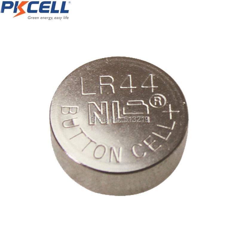 500Pcs/50Packs PKCELL AG13 1.5V Alkaline Button cell Battery  G13 LR44 357A A76 303 LR44 SR44SW SP76 L1154 RW82 RW42 Batteries 3