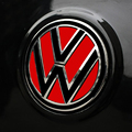 Reflective Car Stickers Rear Logo Color Change For VW Golf 6 Polo Tiguan Beatles Magotan Car Styling Exterior Accessories
