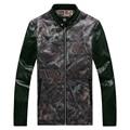 Leather Jacket 2016 New Fashion Men Casual Coat Autumn Motorcycle Leather Jackets Jaqueta De Couro Masculina Plus Size 4XL