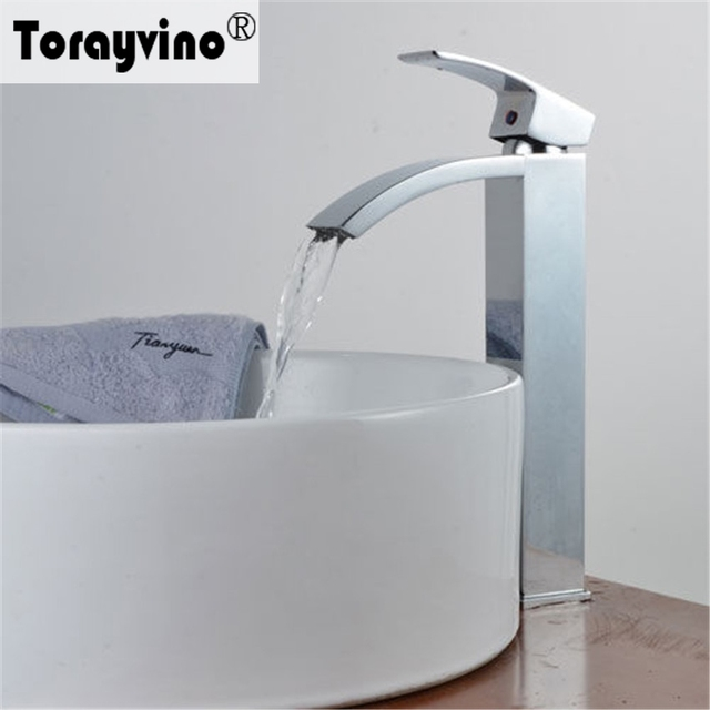 Torayvino Bathroom Luxury Taps Professional chrome Bathroom Basin ...