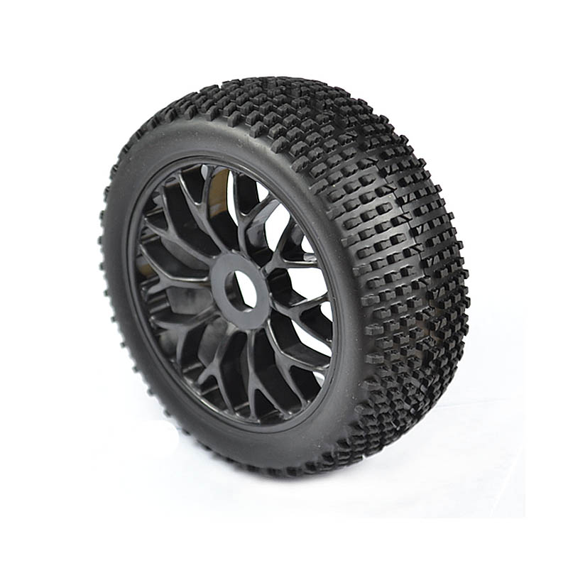 1:8 Off-Road RC Car Buggy Tyre set 4PCS 17mm(with foam and wheel)