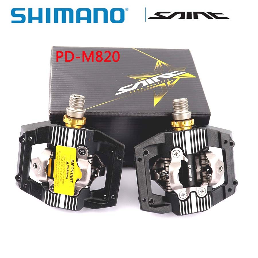 Shimano SAINT Pedals PD-M828 For MTB DownHill Free Ride Bike NIB