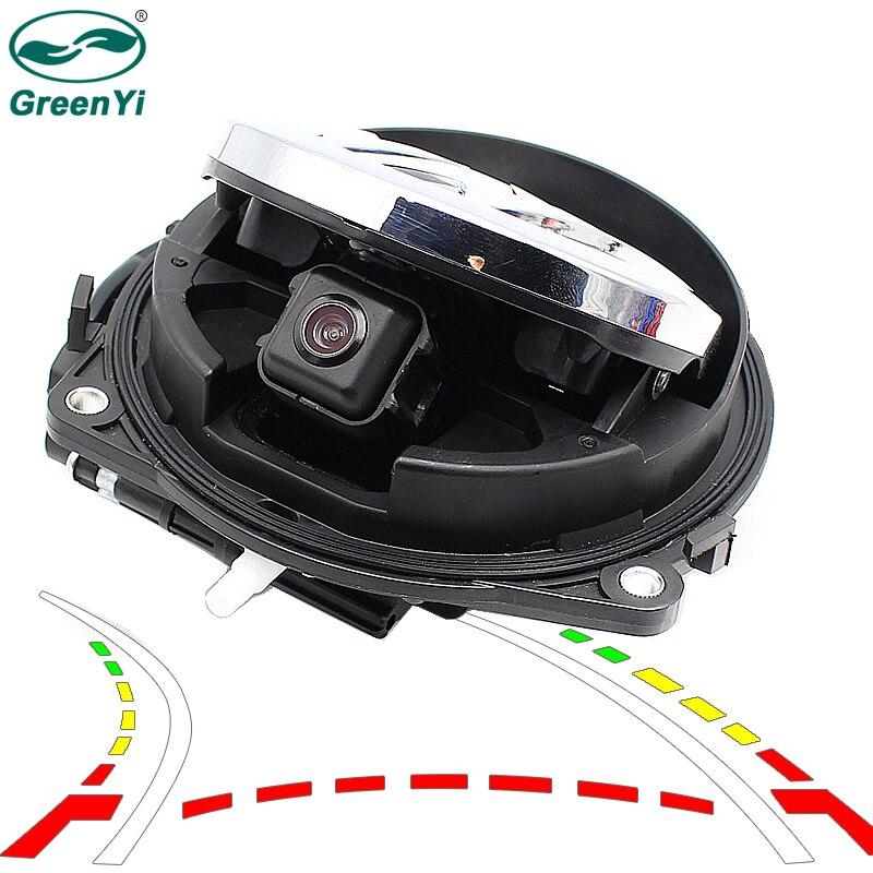 Dynamic Trajectory Tracks Smart Flip Vehicle Rear View Camera For VW CC Golf 6 Passat B7