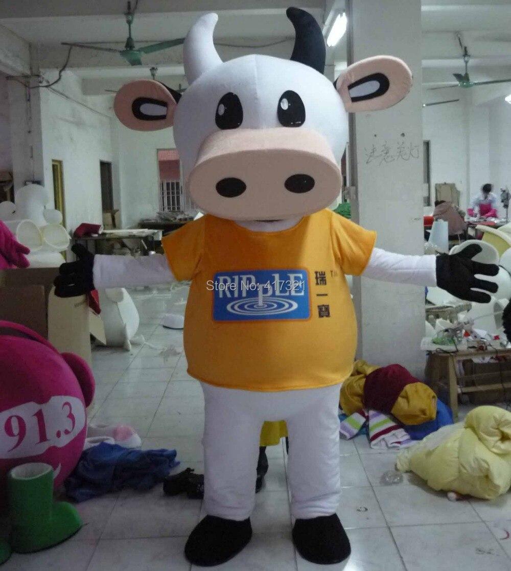 Cow Costume Adult Mens T-Shirt