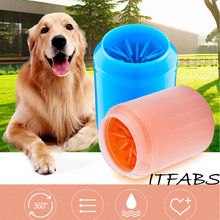 Portable Pet Foot Washer Cup Dog Paw Cleaner Soft Silicone Combs Clean Brush Easy Wash Dirty Cat Cleaning Bucket