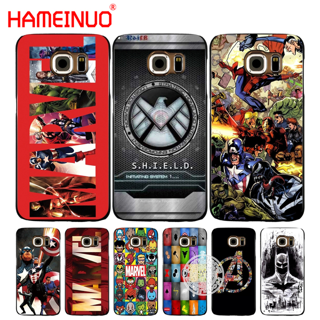 the best attitude e2247 2abdc US $1.99 32% OFF|HAMEINUO marvel Legends batman superman cell phone case  cover for Samsung Galaxy S7 edge PLUS S8 S6 S5 S4 S3 MINI-in Half-wrapped  ...
