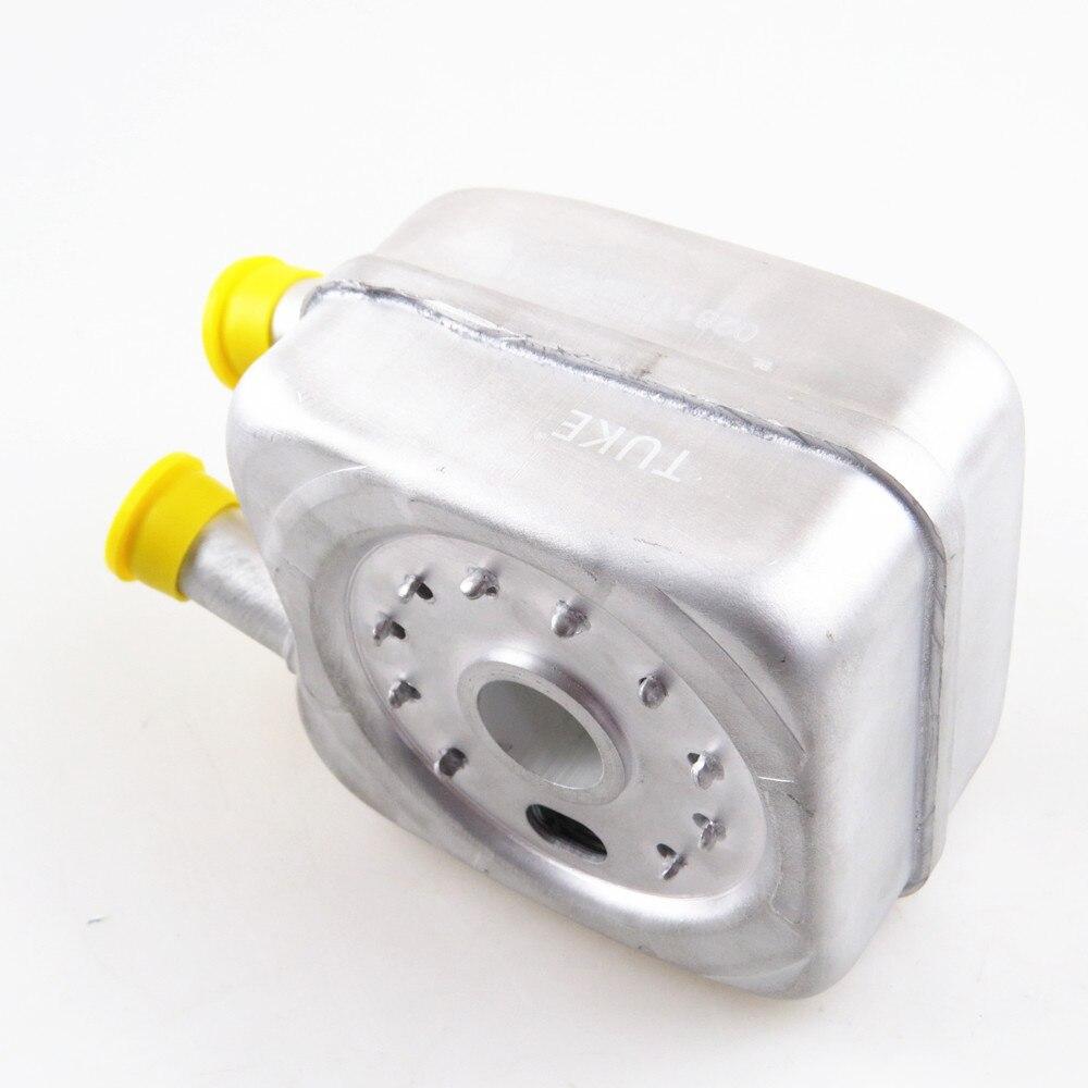 US $20 31 24% OFF|TUKE Car Oil Cooler 1 8L 2 0L For VW Passat B5 Bora  Beetle Golf MK4 MK5 Jetta MK4 A4 TT 028117021B 028 117 021 L 028 117 021  K-in