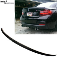 2 series F22 coupe vehicle rear trunk spoiler for BMW F22 F23 F87 M2 2014 + 218i 220i 228i M2 style spoiler for F22 M235i