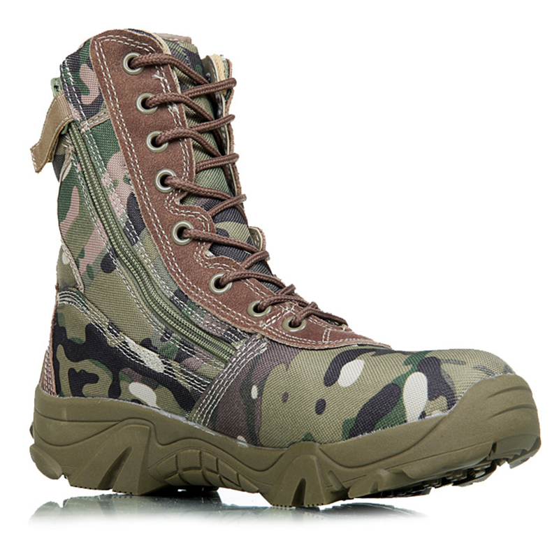 2017 new menmilitary boots camouflage and black tactical combat boots asker bot men kamuflaj bot army