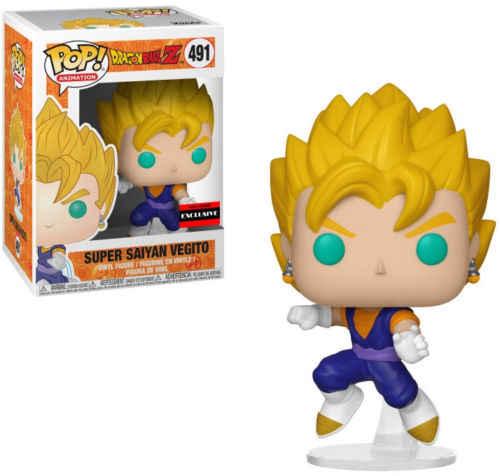 FUNKO pop Super Vegeta Dragon Ball Super Saiyan Goku Porunga chapeamento BEERUS Zamasu YAMCHA Figura de Vinil Novo Com Caixa para crianças