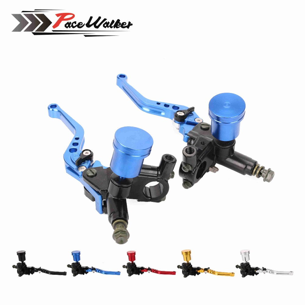 1 pcs CNC lever Handle Hydraulic clutch Brake Pump Master Cylinder Motorcycle Racing Universal For HONDA Yamaha Kawasaki hot sale motorcycle accessories 7 8 hydraulic levers cnc motocross brake master cylinder lever for ktm 105sx 2009 2010 2011