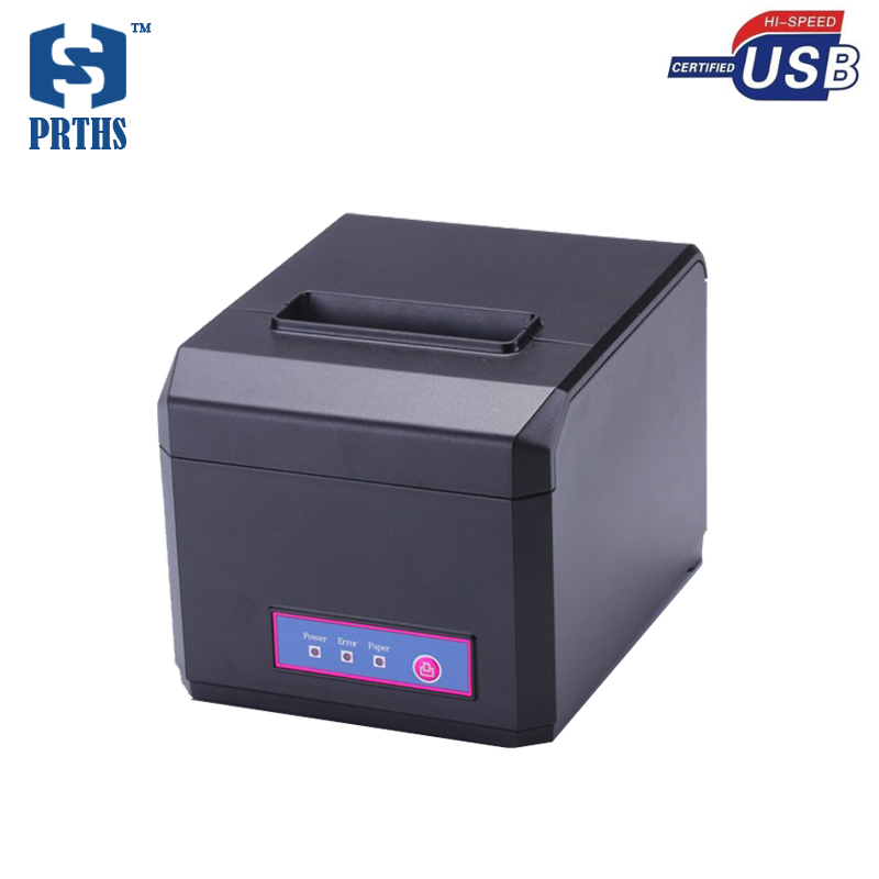 Thermal POS receipt printer support 58mm & 80mm paper with excellent waterproof, anti - oil, anti-dust structure design HS-E81U 2017 new arrived usb port thermal label printer thermal shipping address printer pos printer can print paper 40 120mm