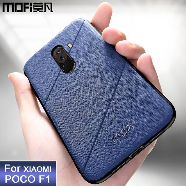 huge discount 05c70 ea76e US $8.69 13% OFF|MOFi original Xiaomi POCOPHONE F1 case cover POCO F1  global back cover shockproof fitted phone case fundas POCOPHONE F1 case-in  ...