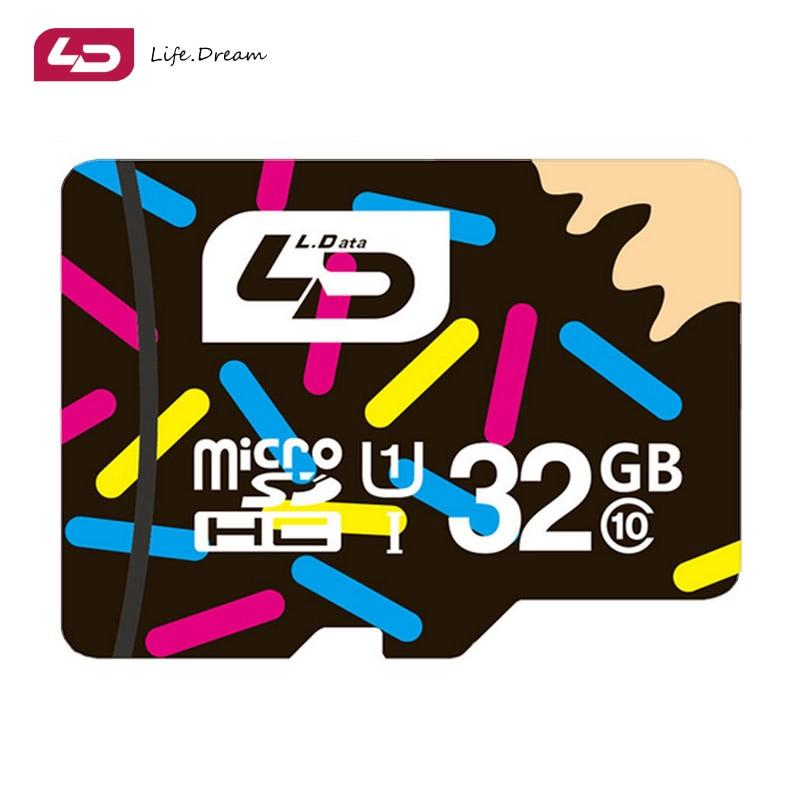 LD Micro SD Card 64GB 32GB 16GB Class10 Memory Card Real Capacity Micro SD 8GB 4GB