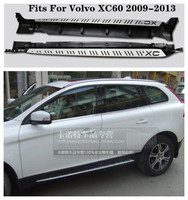 High Quality Aluminum alloy Car Running Boards Side Step Bar Pedals Fits For Volvo XC60 2009.2010.2011.2012.2013