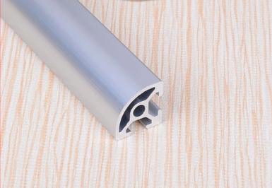 2020R alüminyum profil avrupa standardı 2020 yarım daire beyaz uzunluk 350mm endüstriyel tezgah 1 adet