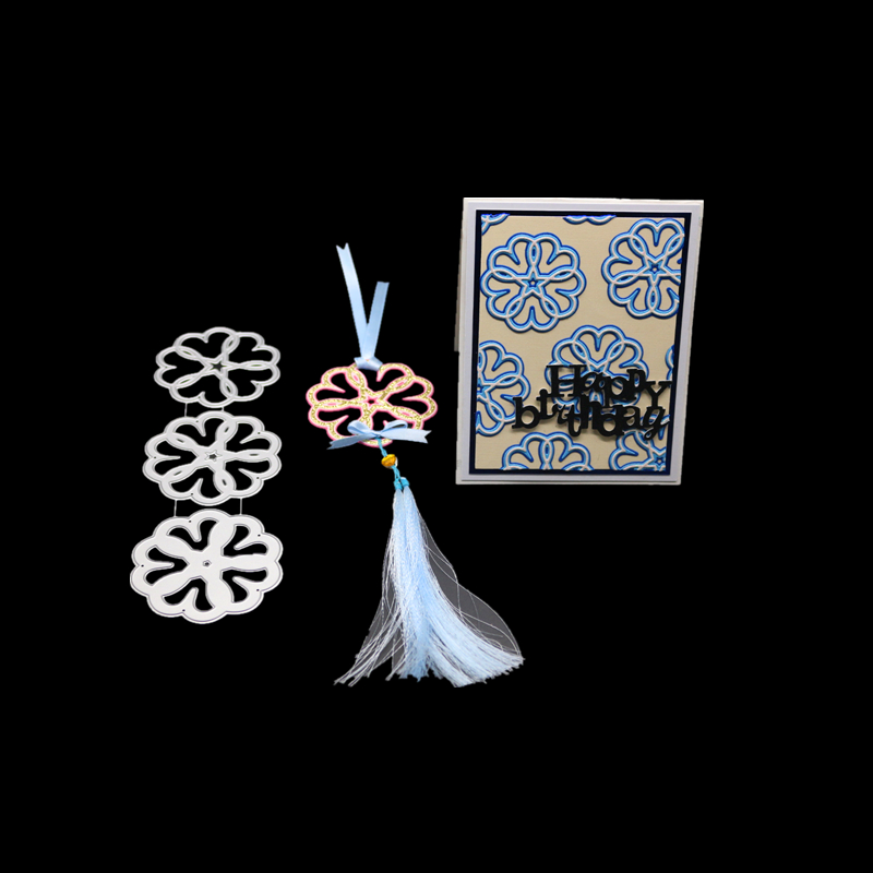 Classic pendant metal cutting dies for scrapbooking DIY paper craft card making decorative gift present new embossing die cut in Cutting Dies from Home Garden