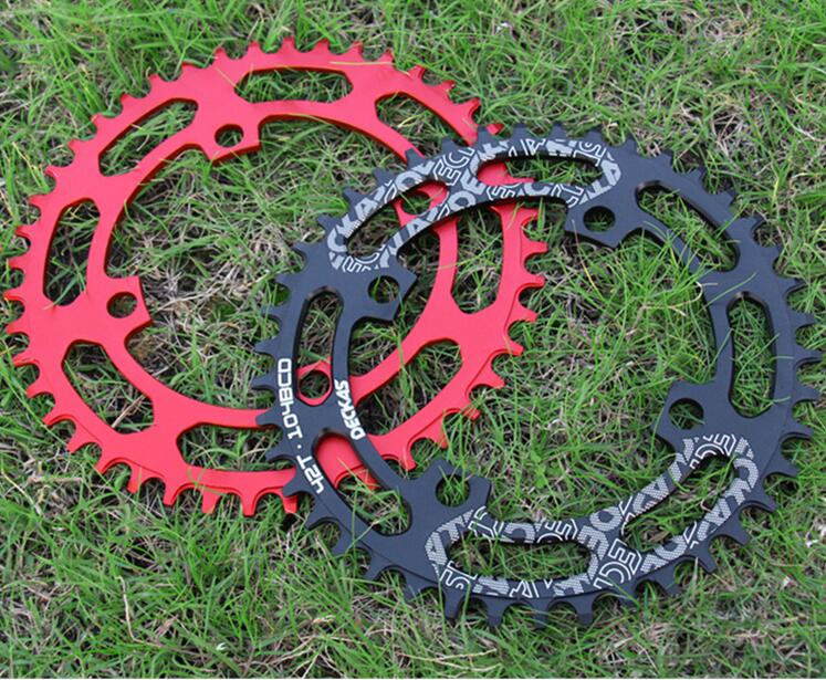 DECKAS Round 104BCD 40T/42T/44T/46T/48T/50T/52T Cycling Chainring MTB Bike Chainwheel Crankset Plate BCD 104mm free shipping звезда rotor chainring bcd110x5 outer black to36 52t c01 502 09010a 0