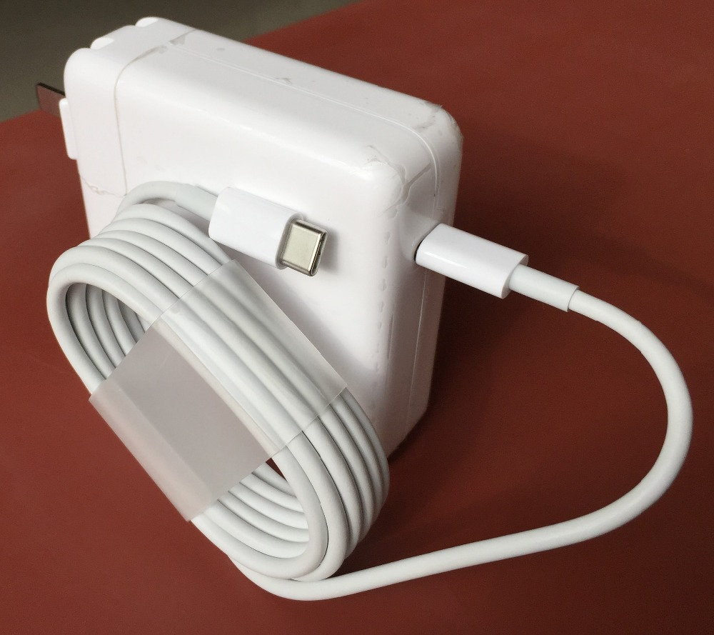 New Genuine Original 29W USB C Type Power Laptop Charger Adapter A1540 For Newest Macbook Pro