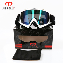 Jiepolly Motocross Goggles Oculos Antiparras Gafas Motorcycle Goggle Off Road Dirt Bike GLASSES Cycling Glasses Ski Eyewear