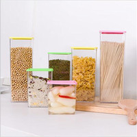 Grains Noodles Storage Box Ingredients Of 5 Sets Most Quality Materials Can Be Heated