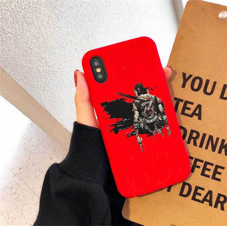 Days Gone Mongrel Farewell Original Mc Colored Soft Silicone Phone Case For Iphone 6 6s 6plus 7 7plus 8 8plus Xr Xs Xsmax