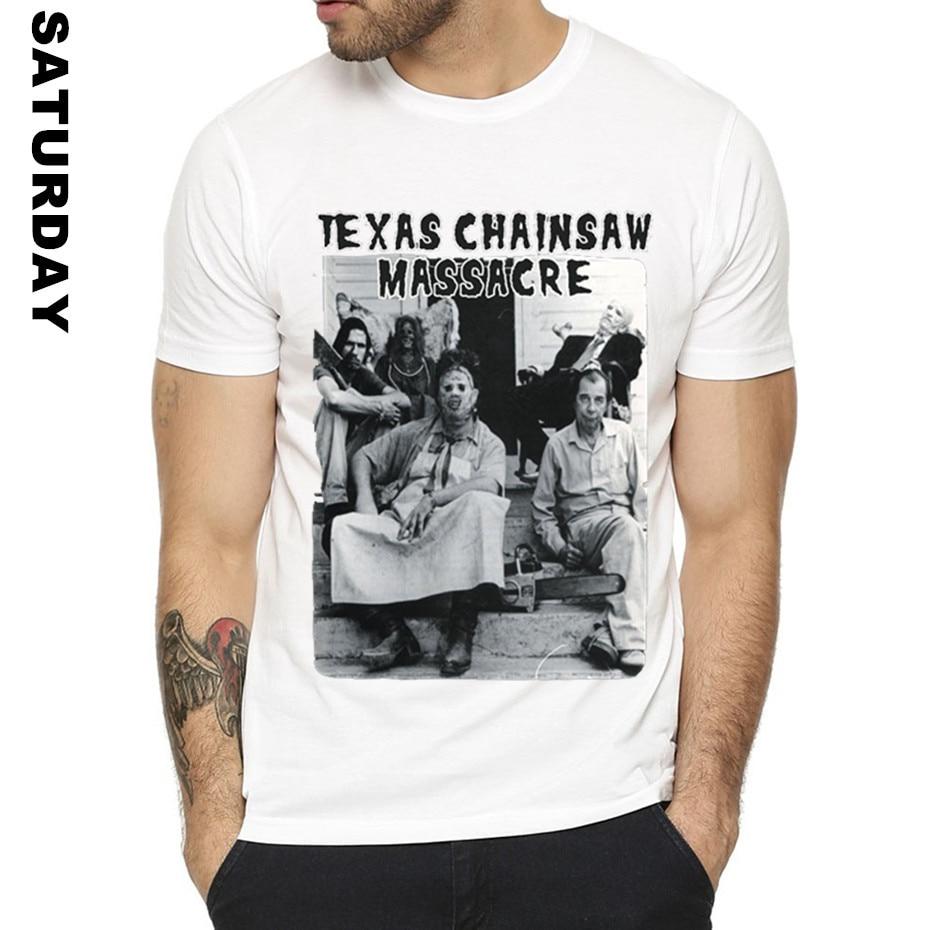 Texas Chainsaw Massacre Shirt Halloween T Shirt for Men and Women,Unisex Comfortable Breathable Graphic T-Shirt Men's Streewear