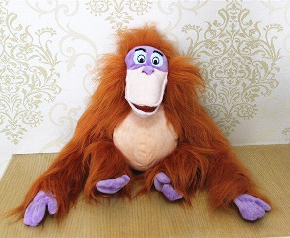 18 08 Nouvelle Arrivee Rare D Origine Le Livre De La Jungle Gibbon Singe Animal Anime Peluche Jouet Poupee Cadeau D Anniversaire Enfants Cadeau
