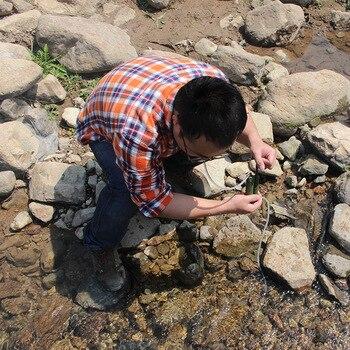 открытый световой короб | Новый 20120 Открытый походный Кемпинг индивидуальный очиститель воды аварийный очиститель воды портативный супер светильник водный ящик