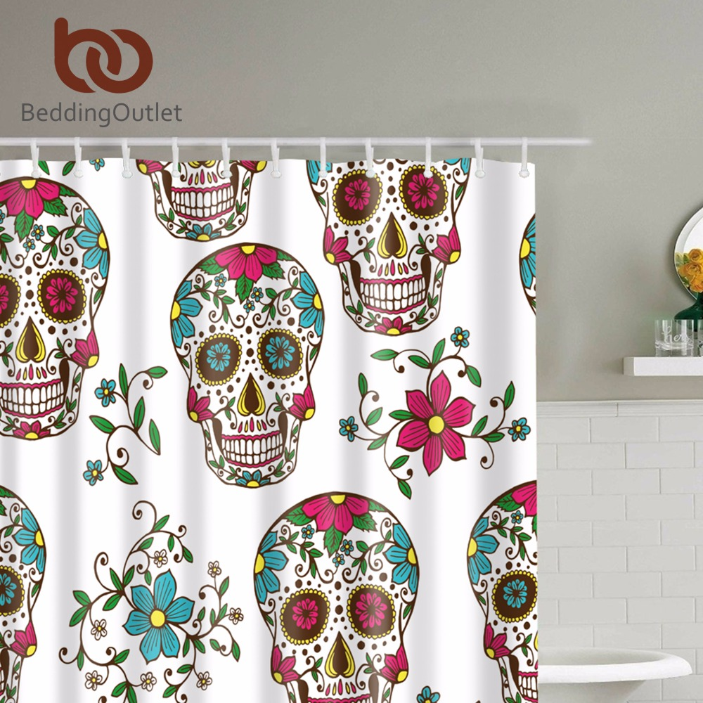 Sugar Skull Bathroom Decor High Quality Sugar Skull Fabric Buy Cheap Sugar Skull Fabric Lots