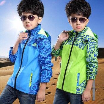 Boys Jacket Children Coat Spring Autumn School Teen Sport Kids Clothes Jersey Boys Outwear Hooded Children Clothing 2018 Jackets 1