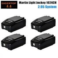 Işıklar ve Aydınlatma'ten Sahne Aydınlatması Efekti'de En iyi Fiyat 4 adet/grup Martin USB Duo DMX Arayüzü Işık Jokey 1024 Kanal USB DMX Windows bazlı Sahne ışık Kontrolörü