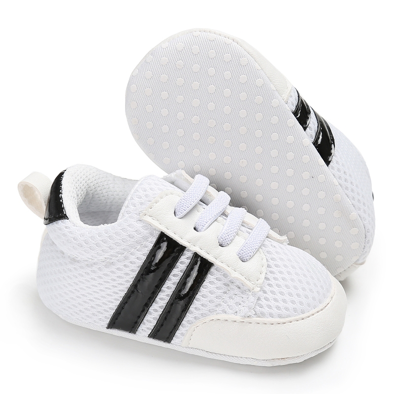 New Baby First Walker Fashion Infant Baby Boys Girl Anti-Slip PU Leather Soft Soled Newborn Sneakers Baby Shoes Moccasins