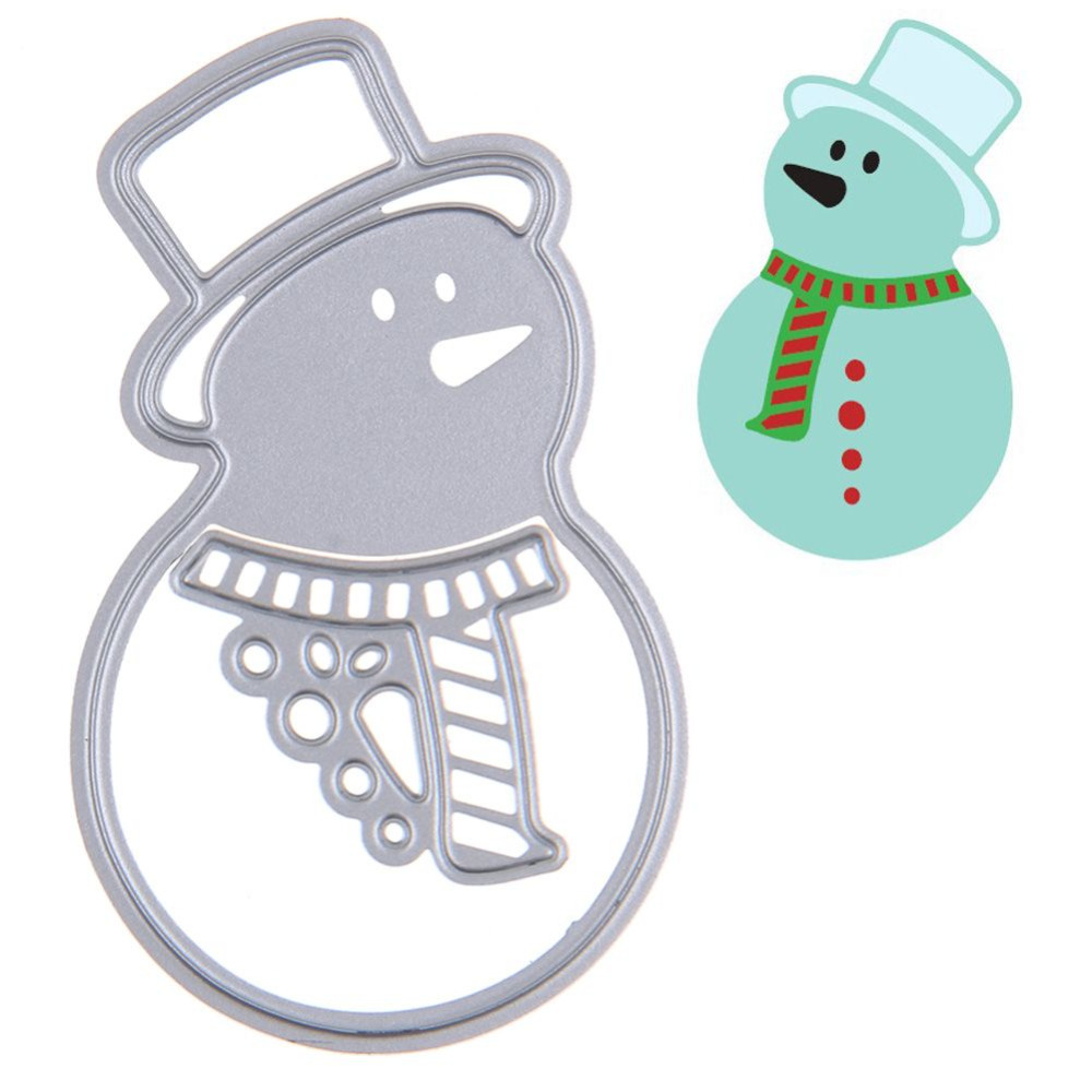 compare prices on christmas paper template online shopping buy christmas snowman scrapbook diy album card paper card maker metal die cut stencil decoration dies craft
