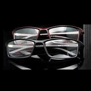 Image 5 - TR90 Flexible Men Prescription Glasses Eyewear Frame Googles Optical Frame Glasses Men Sports Glasses Man Oculos de grau