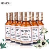 Famous brand oroaroma Eucalyptus Orange lemon grass Lily Osmanthus Ylang Ylang Essential Oils Pack Aromatherapy Spa Bath 10ml*6