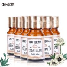 Famous brand oroaroma Eucalyptus Lămâie verde de lămâie Lily Osmanthus Ylang Ylang Essential Oils Pachet Aromaterapie Spa Bath 10ml * 6