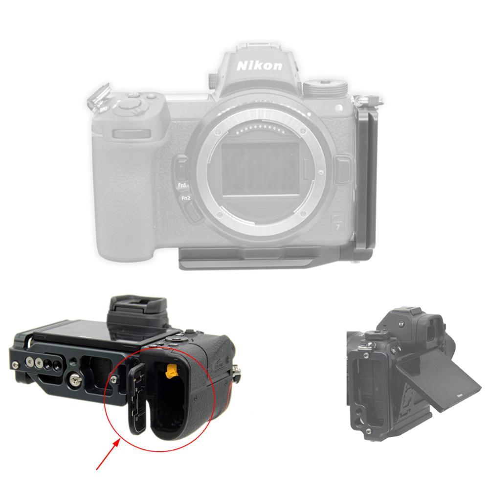 Gadget Place 3-Shoe Bracket for Nikon Z 7 Z 6 Z7 Z6