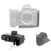 Staffa a piastra verticale a L con treppiede a sgancio rapido per fotocamera Nikon Z7 Z6 Z 7 Z 6