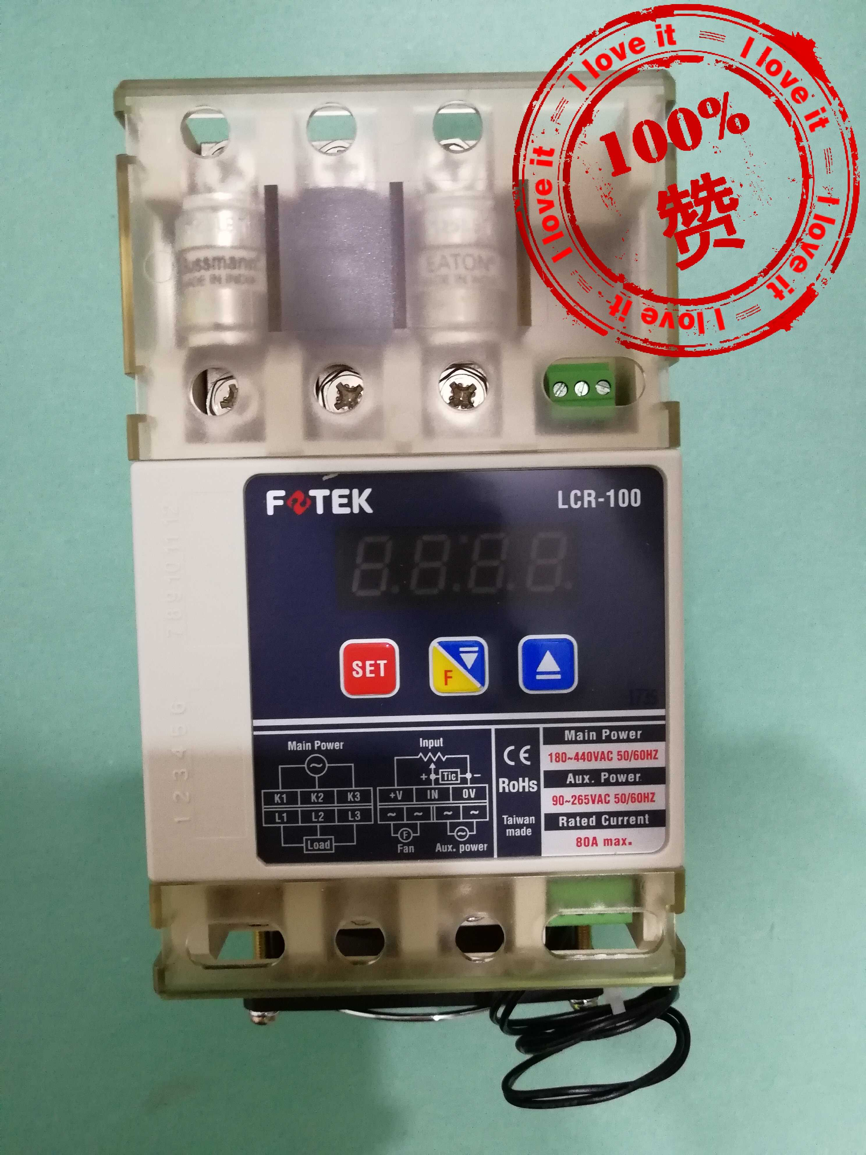 100% New Original Three-phase Solid State Relay LCR-100