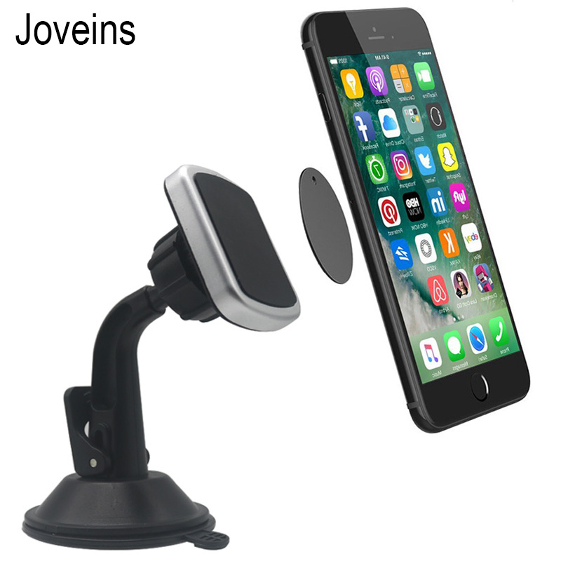 Magnet Dashboard Car Phone Holder Windshield Car Stand Mount Support 360 Rotatable GPS Strong Sticky Suction Cup Car Holder