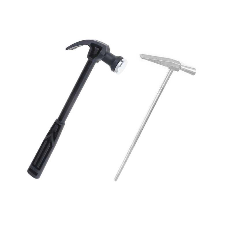 1Pcs Small Iron Hammer Jewelry Watch Repair Hand Tool /Plastic Handle Mini Claw Hammer Woodworking Nail Puncher Metal Hammer
