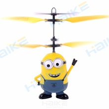 Christmas Eve Gift Remote Control RC Helicopter Flying Despicable Me Minion Quadcopter Drone Ar.drone Kids Toy VS Fairy Doll x5c