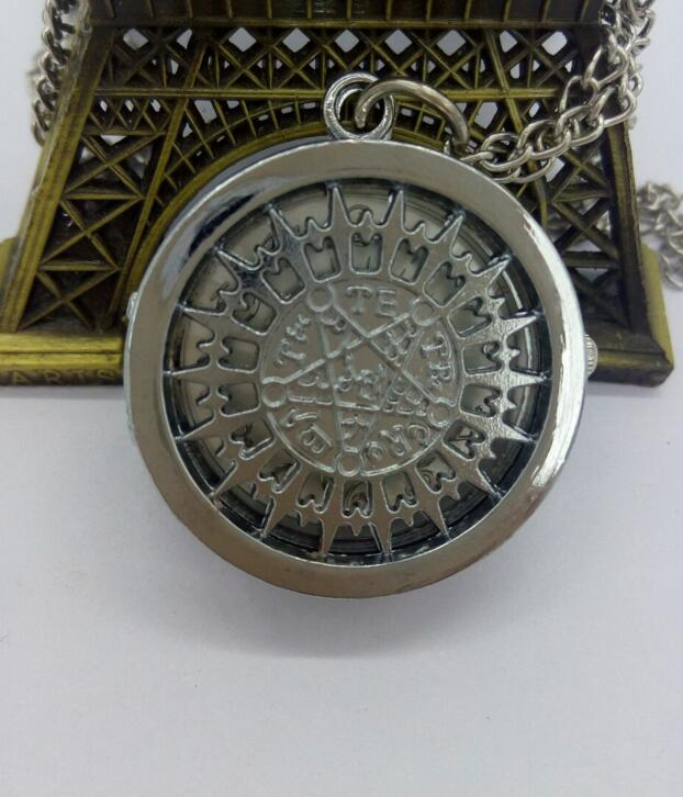Black Butler Anime Cartoon Quartz Flip Modern Hours Pendant Gift Boy And Girl Watches And Pocket Watches