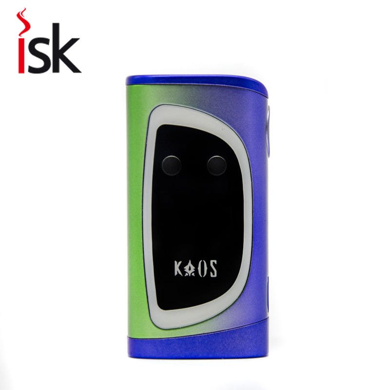 New Original vape pen Sigelei kaos 230w Box Mod electronic Cigarette Color Display Screen fit with two 18650 batteries sigelei 150w 150 18650 vape kanger subtank