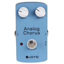 JOYO Analog Chorus True Bypass Guitar Audio Effect Pedal
