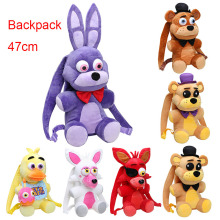 Big Size bag 47CM Five Nights At Freddy s toy FNAF Mangle foxy Freddy Fazbear Bonnie