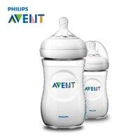 AVENT 2pcs BPA Free Natural Polypropylene Bottle 260ml Infant Mamadeiras Juice Milk Water Feeding Bottle Garrafa