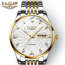2019 Switzerland Mechanical Watch Men Wrist Sapphire KASSAW Luxury Brand Waterproof Watches Male Wrist Sapphire Relogio Masculin цена